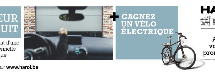 Promo Harol : le moteur est gratuit à l'achat d'une porte de garage - Disponible chez Renov'&Store, votre spécialiste Harol à Tournai jusqu'au 31 mars 2018