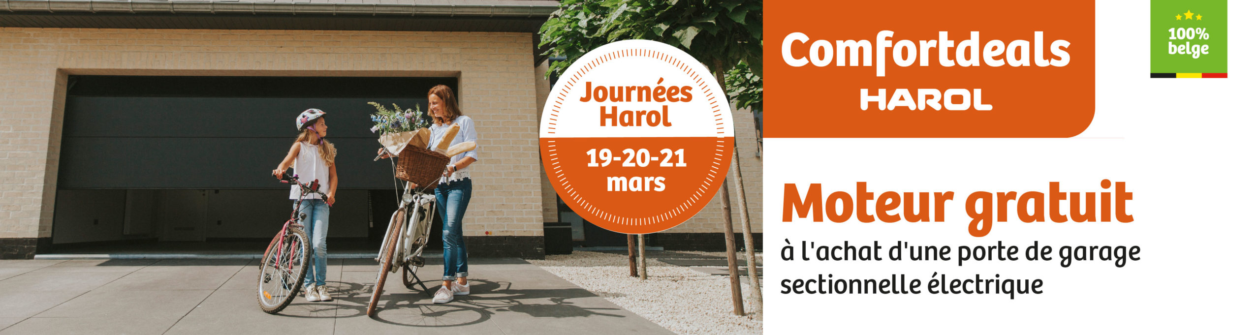 Harol et Renov'&Store vous offrent de nombreuses réductions l'achat de vos portes de garage, stores bannes ou solutions vivre dehors jusqu'au 17 mai 2020