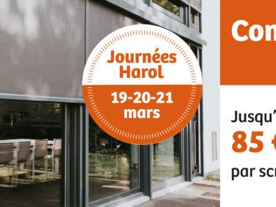 Harol et Renov'&Store vous offrent de nombreuses réductions l'achat de vos portes de garage, stores bannes ou solutions vivre dehors jusqu'au 15 mai 2021
