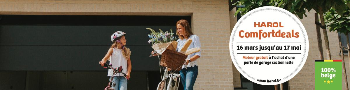 Harol et Renov'&Store vous offrent le moteur à l'achat de votre porte de garage jusqu'au 17 mai 2020