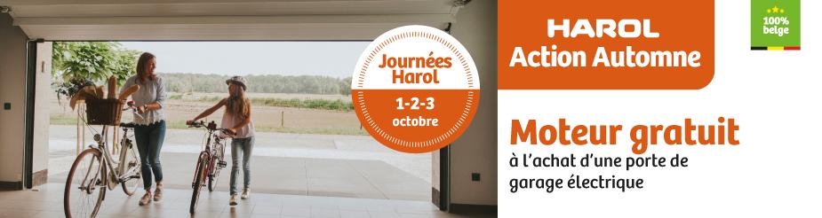 Harol et Renov'&Store vous offrent de nombreuses réductions l'achat de vos portes de garage, stores bannes ou solutions vivre dehors jusqu'au 14 novembre 2021